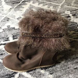 80%20 Faux Fur Hidden Wedge Boots